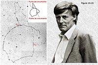 John Cairns. Autorradiografía del cromosoma de Escherichia coli